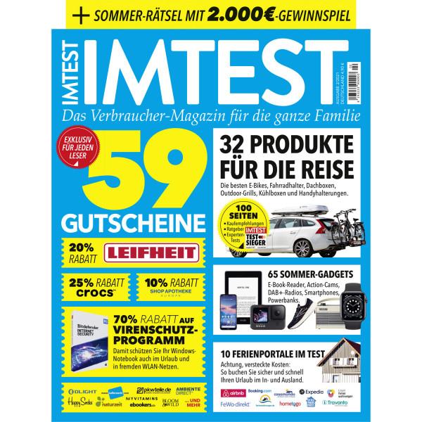 IMTEST - 59 Gutscheine / Das Verbrauchermagazin 02/21